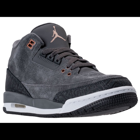 finest selection a896b 96c4d Air Jordan 3 Retro GG Anthracite NWT